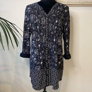 REGATTA Maxi Floral Pattern long sleeve Shirt 16